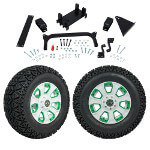 "GTW 5"" Lift w/ 12"" Nemesis White Wheel & Recon A/ T Tire For Yamaha (G29/ Drive)"