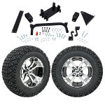 "GTW 5"" Lift w/ 12"" Storm Trooper Machined/ Black Wheel & Recon A/ T Tire For Yamaha (G29/ Drive)"