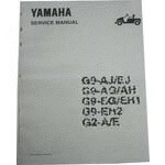 Yamaha Parts Manual (Models G1 /  1985)