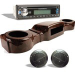Woodgrain Complete Overhead Radio Kit (Select Model)