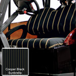 Cooper Black Sunbrella Seat Covers (Select Model)