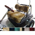 Club Car DS Fur-style Seat Cover Set (Select Color - Fits 2000.5-Up)