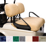 Club Car Precedent Sheepskin Seat Cover Set (Select Color)